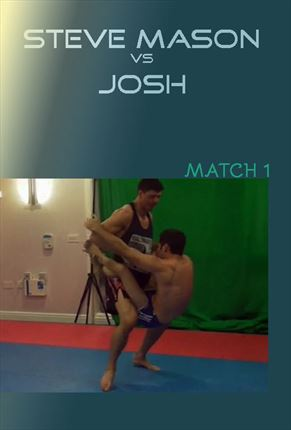 Josh vs Steve mason gay sub wrestling